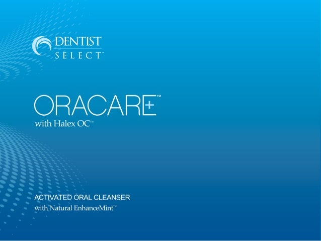 OraCare is not just any mouthwash. OraCare is an Activated Oral Cleanser and Health Rinse.