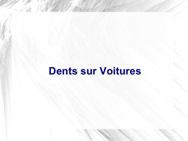 Dents sur Voitures