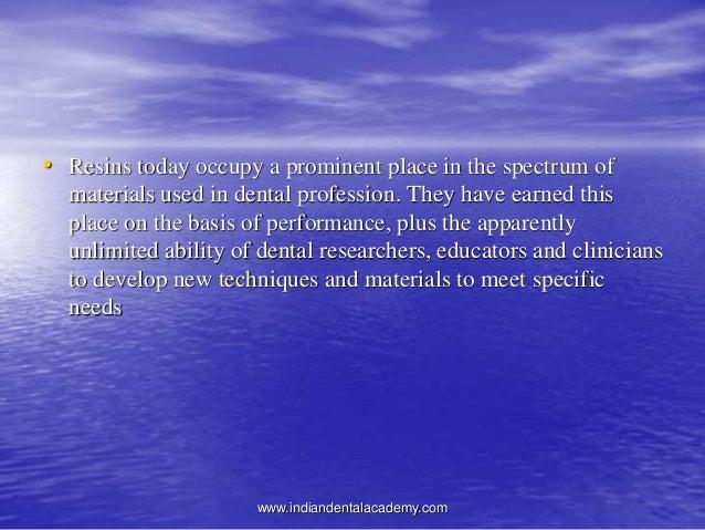 Denture Base Resins Dental Courses