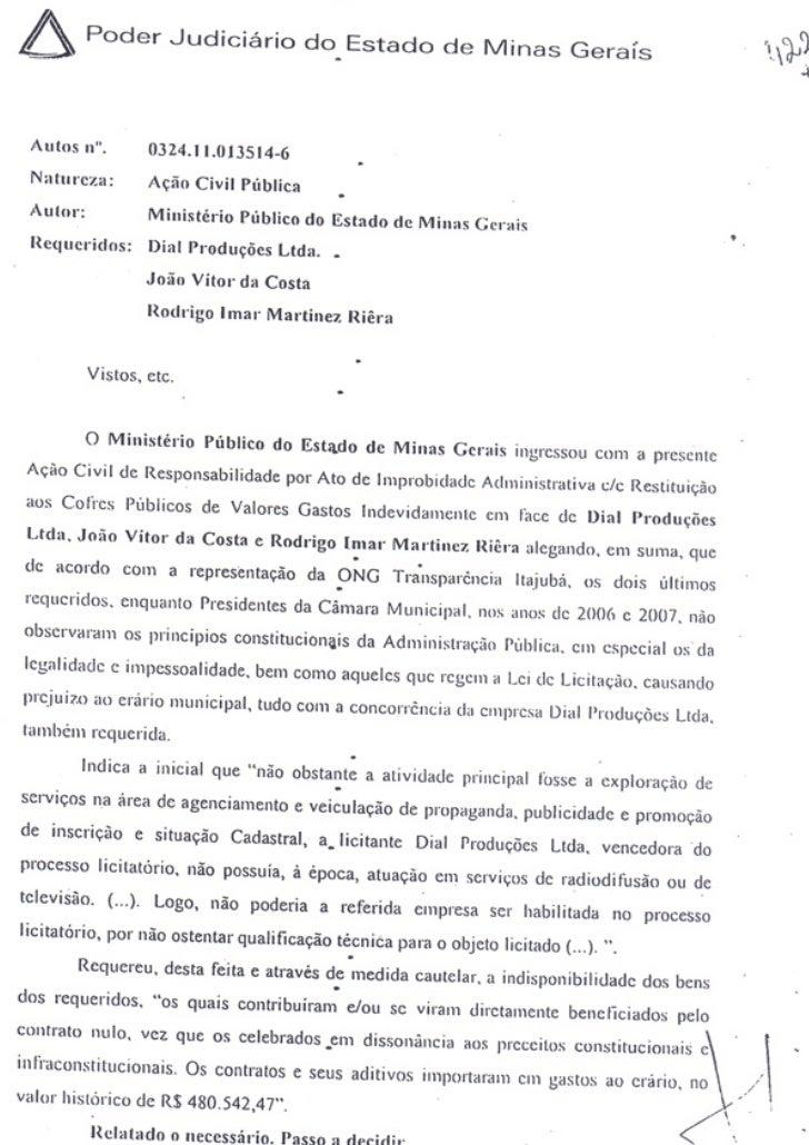 Corrupção em Itajubá