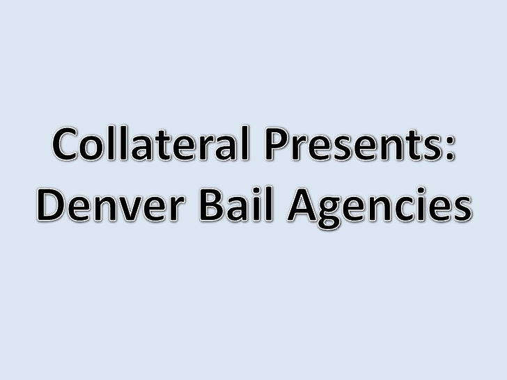 You may not know it, but Collateral is    based in Denver, Colorado. We   decided to take a look around our  neighborhood ...