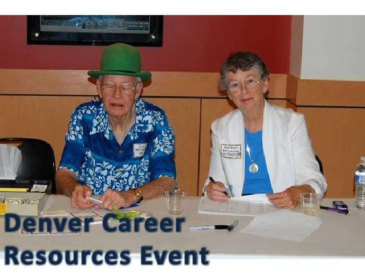 Denver Career <br />Resources Event<br />