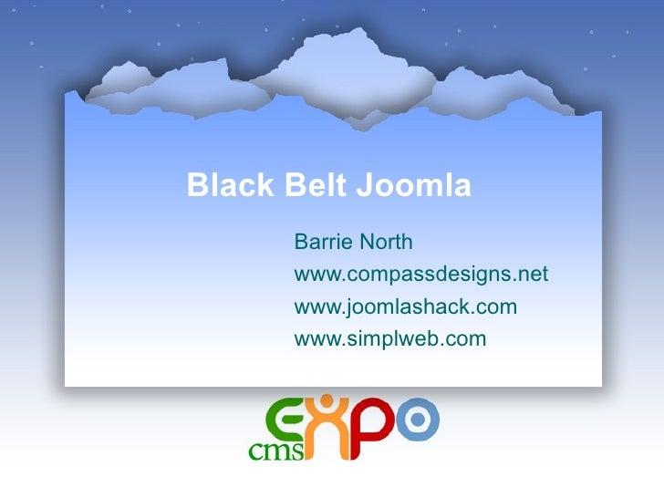 Black Belt Joomla Barrie North www.compassdesigns.net www.joomlashack.com www.simplweb.com