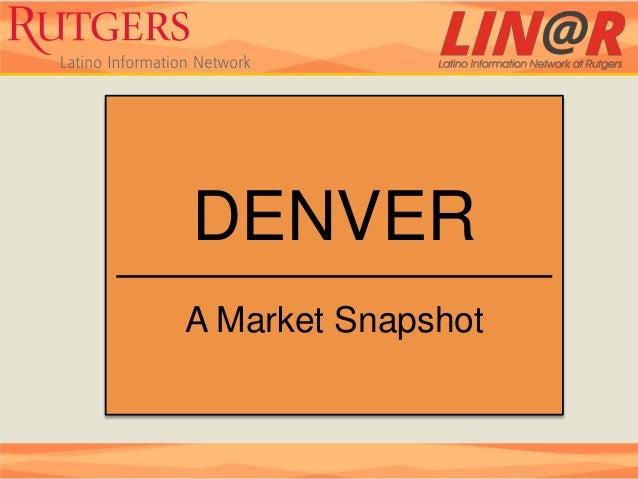 DENVERA Market Snapshot