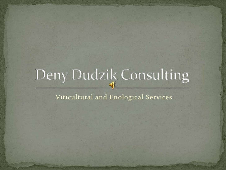 Viticultural and Enological Services