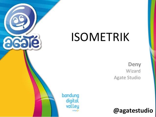 @agatestudio ISOMETRIK Deny Wizard Agate Studio