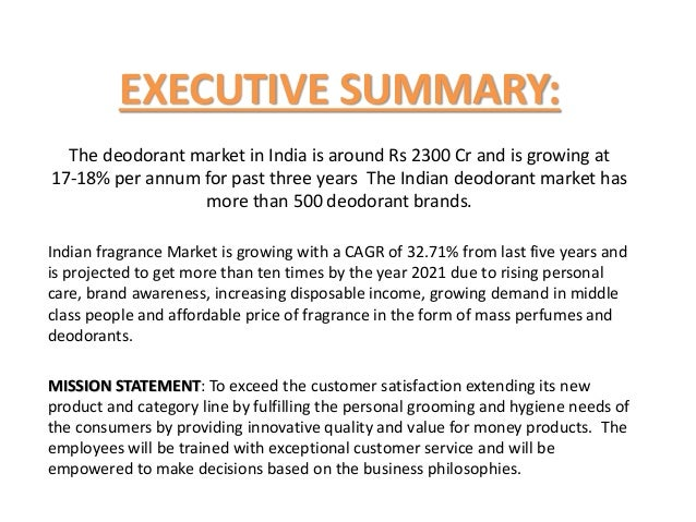 Fogg Deodorant And Market Analysis