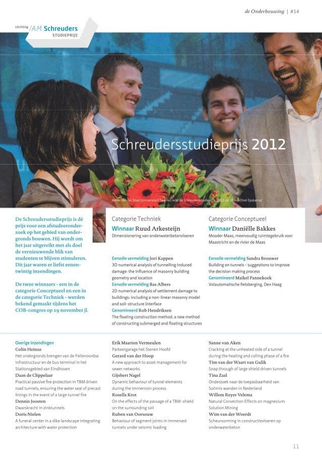Artikel De Onderbouwing (december 2012) - Scheudersstudieprijs 2012