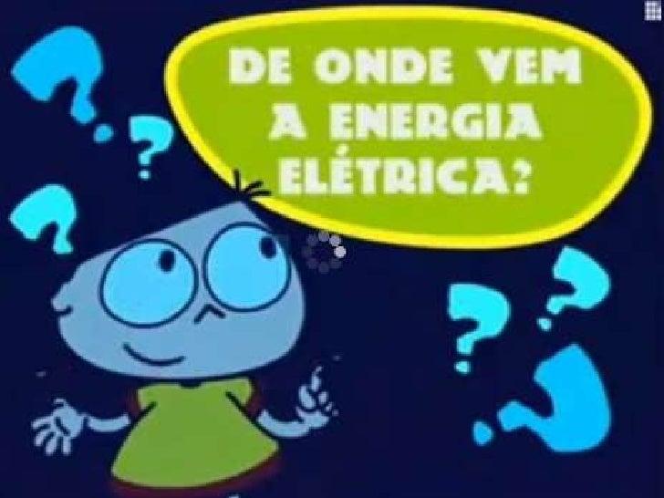 De onde vem a energia