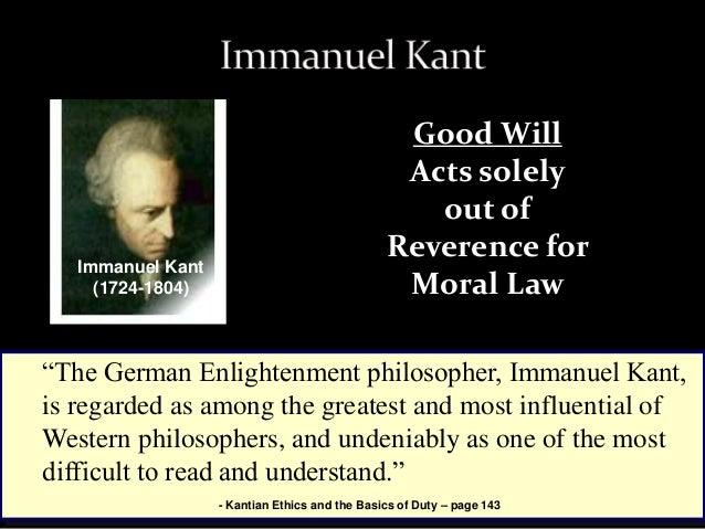 the good and bad qualities of kantian deontology What are some bad points about kant's deontological ethics the categorical imperative does not tell us right off the bat what is good and bad deontological ethics example please.