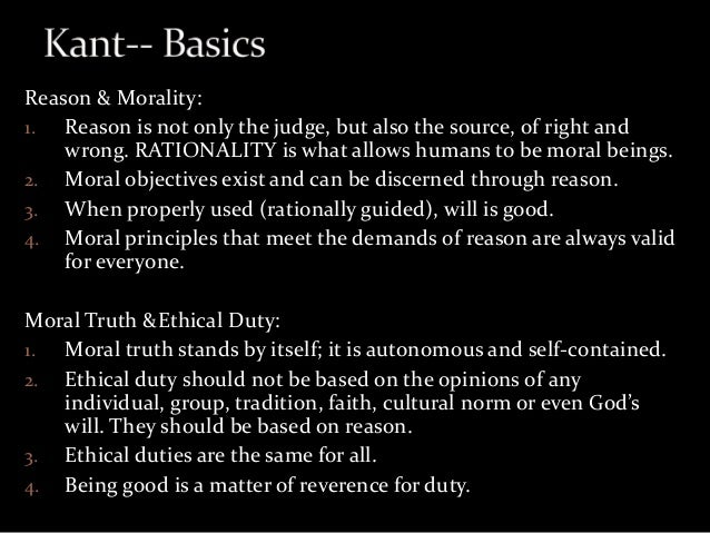 Kant's formula of humanity