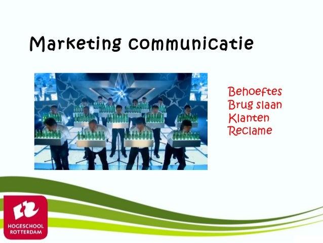 Marketing communicatie                   Behoeftes                   Brug slaan                   Klanten                 ...