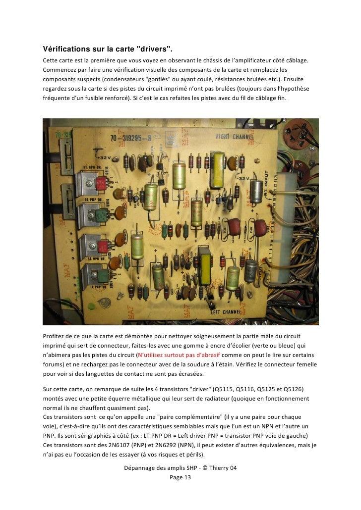Depannage amplis shp acroread - Nettoyer circuit imprime ...