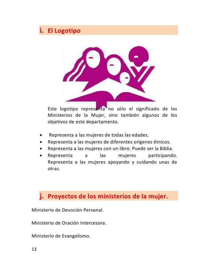 Proyecto de ministerio de mujeres cristianas