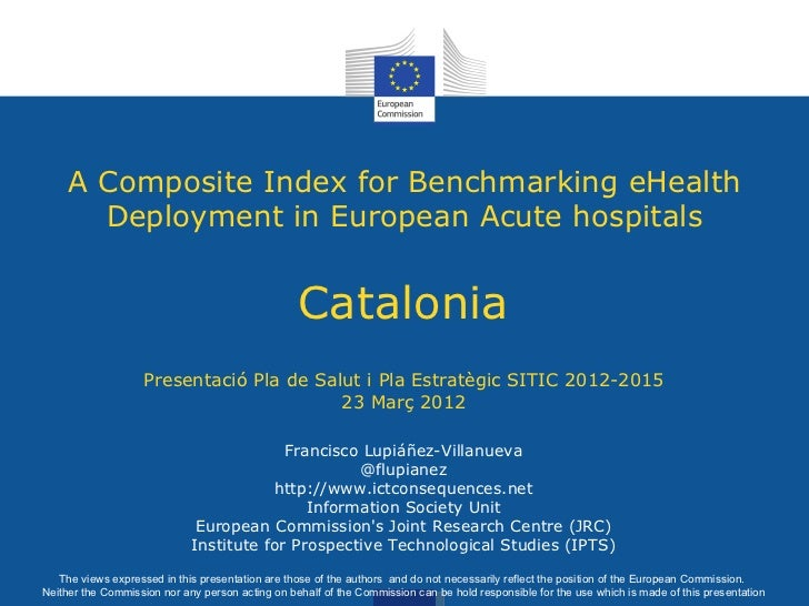 A Composite Index for Benchmarking eHealth       Deployment in European Acute hospitals                                   ...