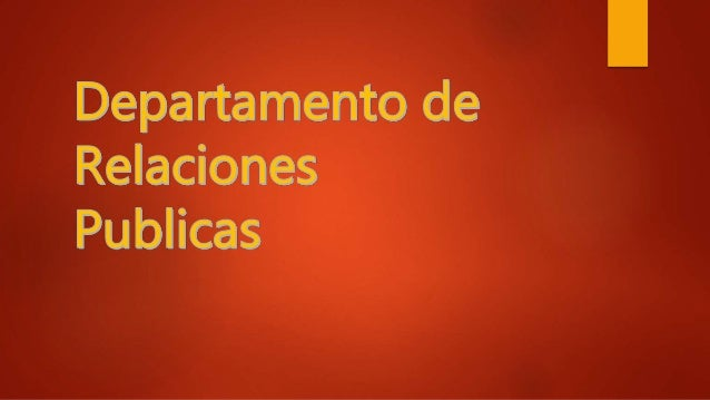 Los departamentos de relaciones públicas desempeñan diversas funciones y papeles en las empresas y organizaciones. Cuando ...
