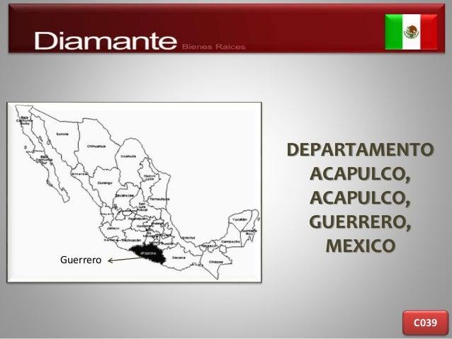 DEPARTAMENTO ACAPULCO, ACAPULCO, GUERRERO, MEXICO C039 Guerrero
