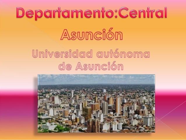 o Presentación de departamento o Ubicación oActividades resaltantes oSitios turisticos oContactos oAutor