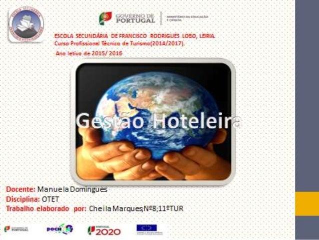 • Num grande hotel o quadro de executivos cobre todas as áreas administrativas e operacionais: