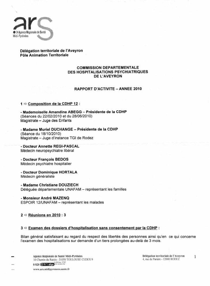 • ) Agence RégionaleMidi-Pyrénées      Délégation territoriale de lAveyron      Pôle Animation Territoriale               ...
