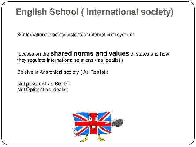 the english school international relations pdf