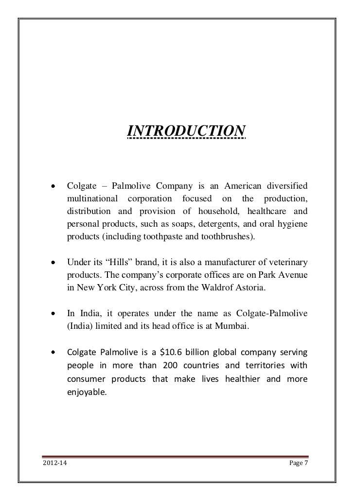 Colgate-Palmolive Company