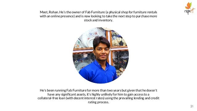 Meet, Rohan. He's the owner of Fab Furniture (a physical shop for furniture rentals with an online presence) and is now lo...