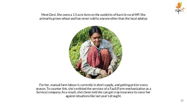 Meet Devi. She owns a 1.5 acre farm on the outskirts of Itarsi in rural MP. She primarily grows wheat and has never sold t...