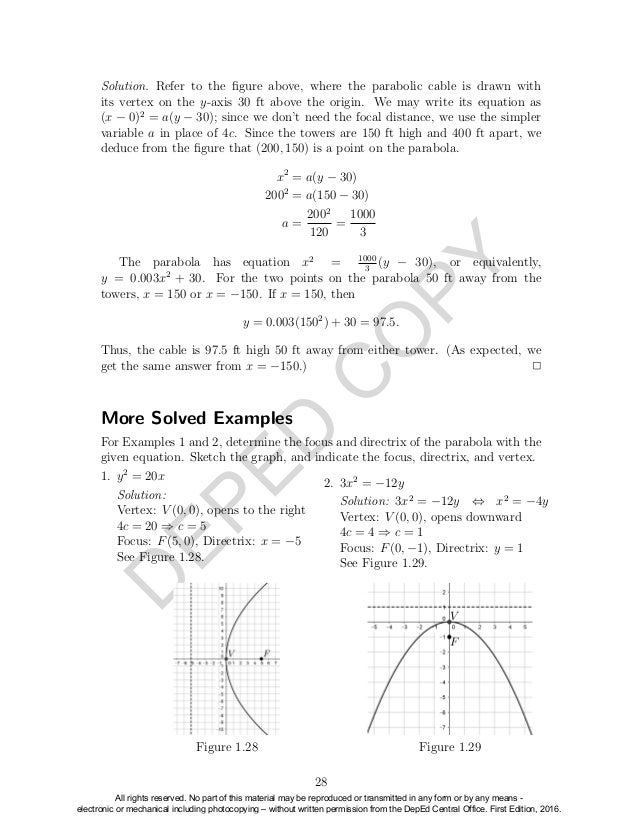 Pre calculus Grade 11 Learner's Module Senior High School