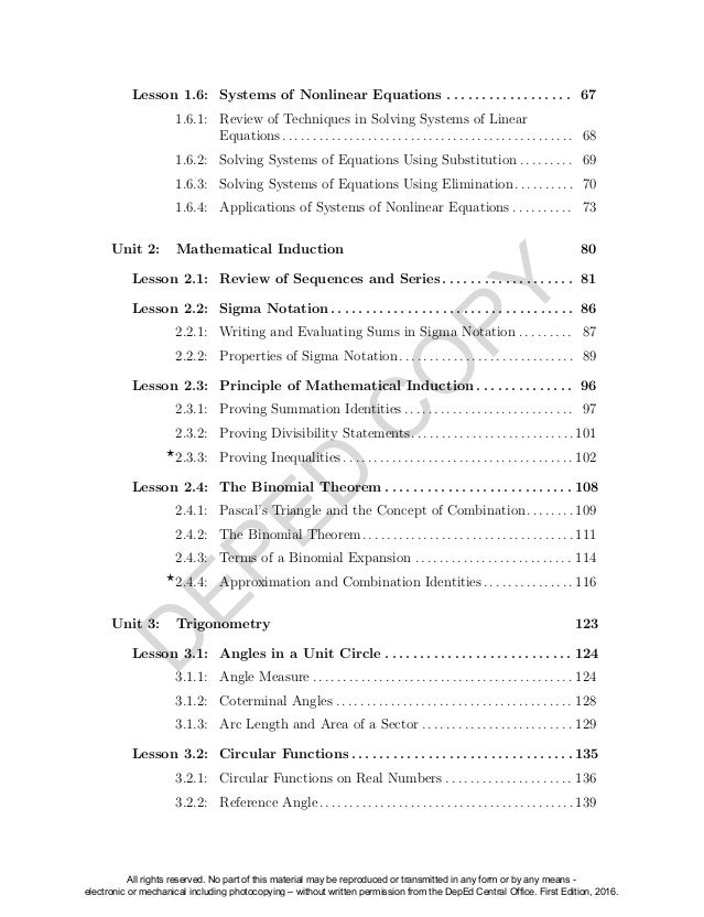 8th grade Module 4 Linear Equations