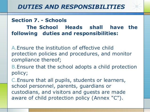 explain why schools have policies and procedures Unit 1 schools as organisations task 1-51 1-52 explain why schools have policies and procedures, and then write a brief summary of the policies and.