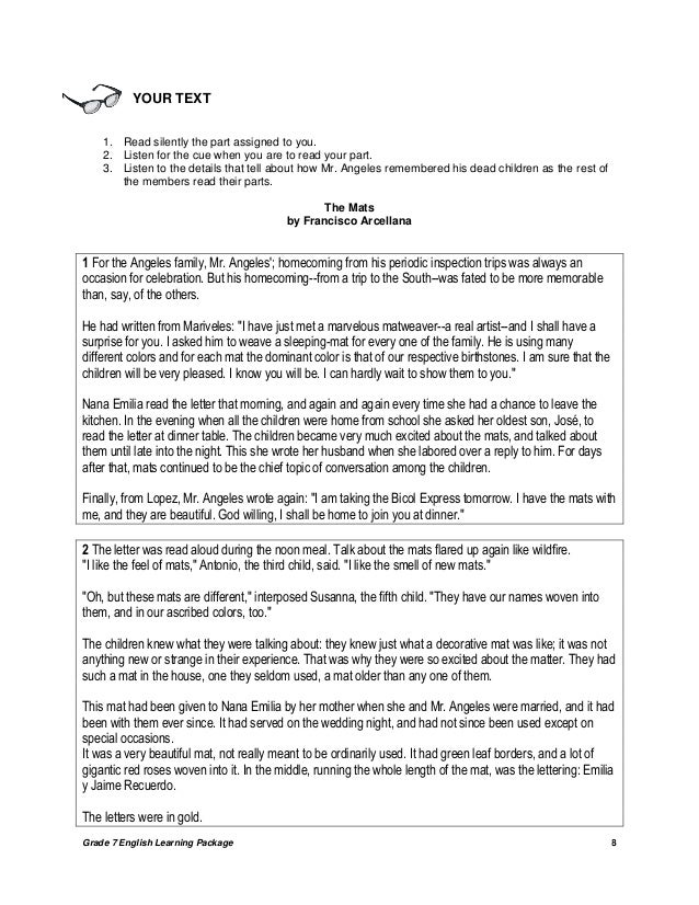 essays of francisco arcellana Documents similar to literature: the mats by francisco arcellana the mats by francisco arcellana essay writing contest.
