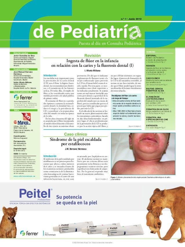 n.o 1 • Junio 2012                                                de Pediatrí                                      Puesta ...