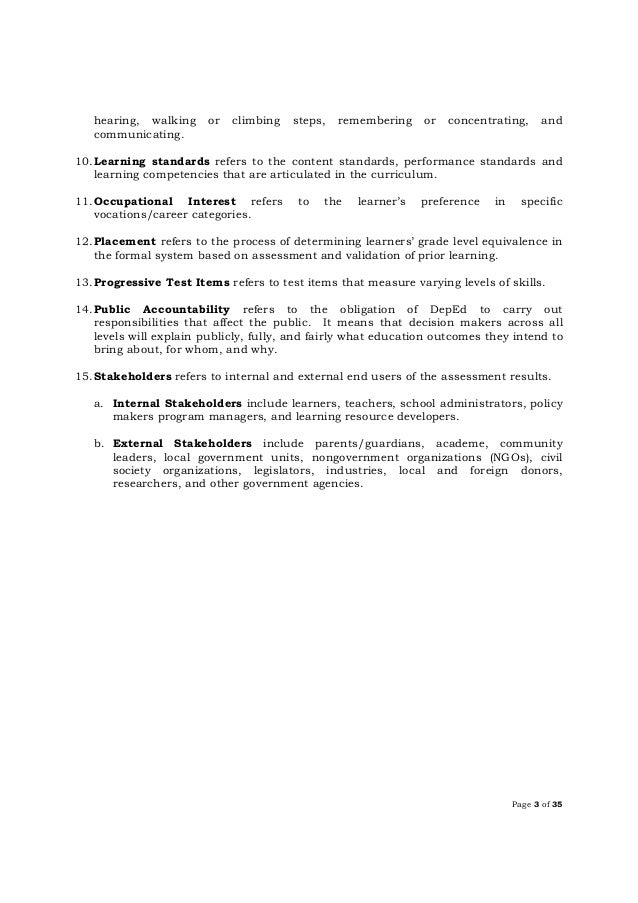 Dep ed order do-s2016_55 k-12 assessment policy