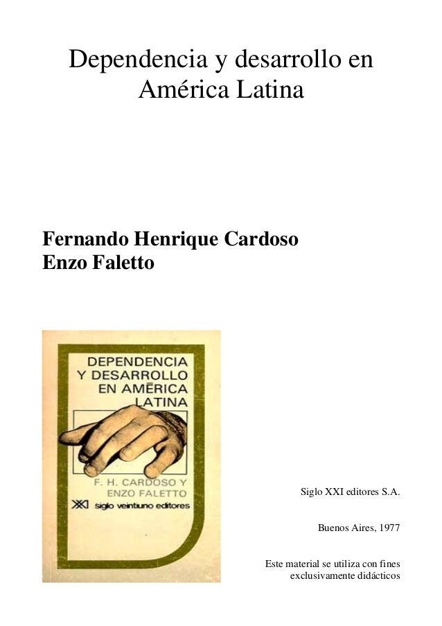 Dependencia y-desarrollo-al-cardoso-y-faletto-1970