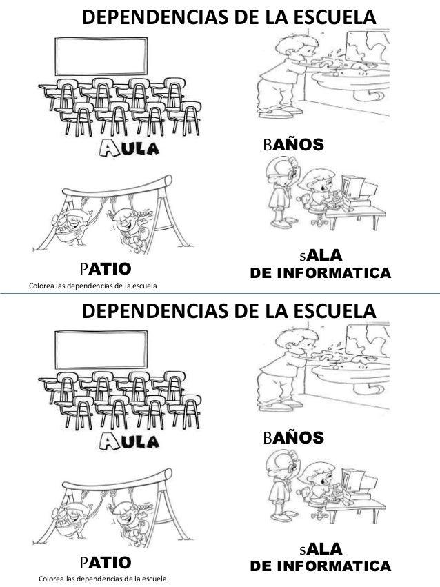 DEPENDENCIAS DE LA ESCUELA BAÑOS PATIO sALA DE INFORMATICA DEPENDENCIAS DE LA ESCUELA BAÑOS PATIO sALA DE INFORMATICA Colo...