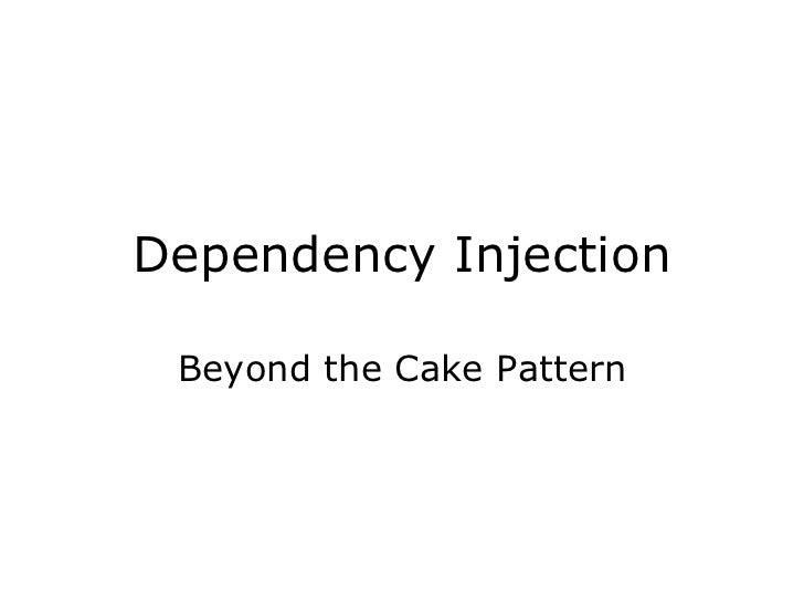 Dependency Injection Beyond the Cake Pattern