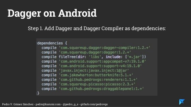 Dependency injection on Android