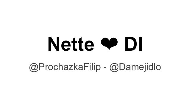Nette ❤ DI @ProchazkaFilip - @Damejidlo