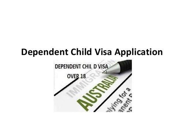 Dependent Child Visa Application Over 18+ for Australia