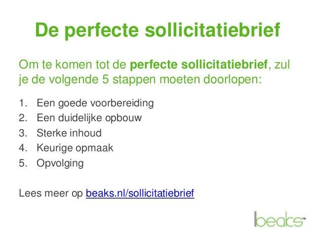 perfecte sollicitatiebrief De perfecte sollicitatiebrief perfecte sollicitatiebrief