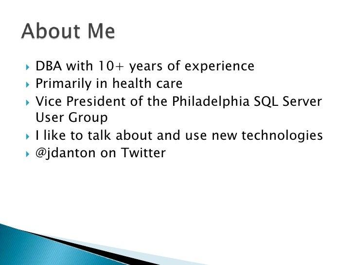 Deploying data tier applications sql saturday dc Slide 2