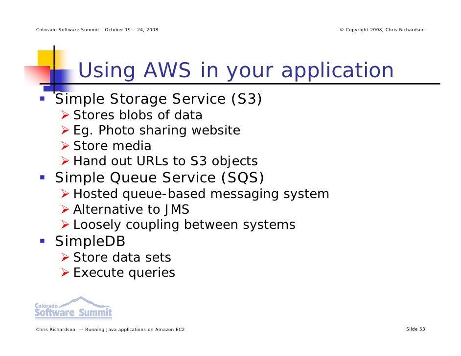 Deploying Java Applicationson Ec2