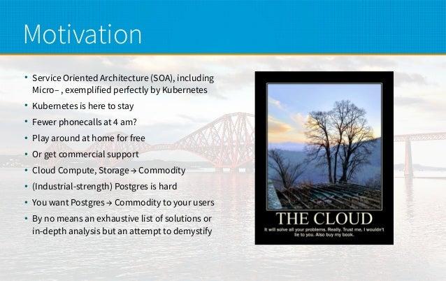 Deploying PostgreSQL on Kubernetes Slide 2