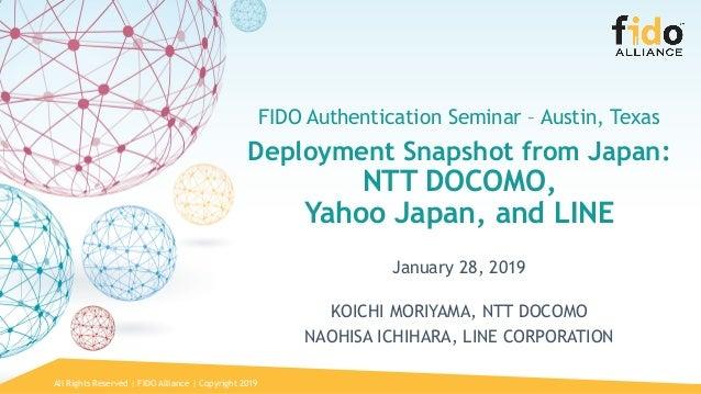 Deployment Snapshot from Japan: NTT DOCOMO, Yahoo! Japan