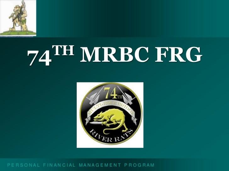 74th MRBC FRG<br />
