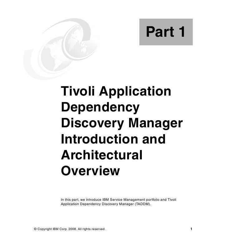 Deployment guide series ibm tivoli application dependency