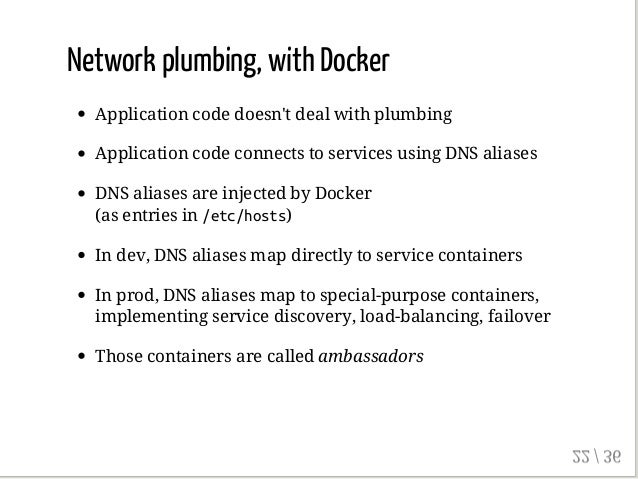 Deploy microservices in containers with docker and friends for Consul dns docker