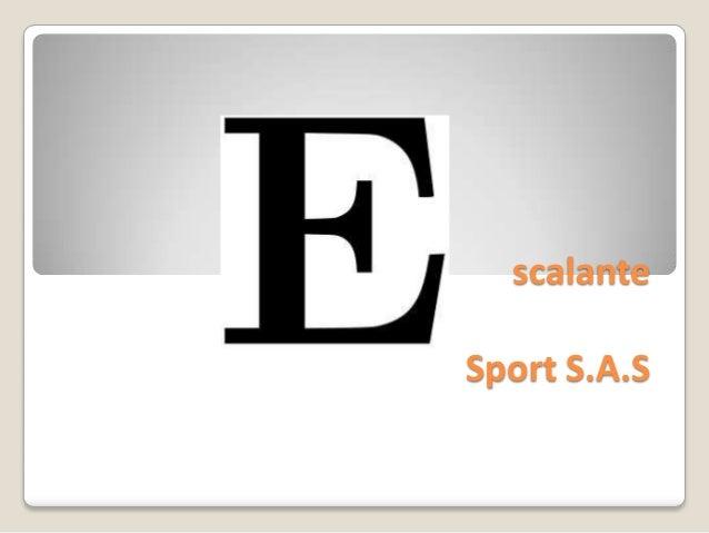 scalanteSport S.A.S