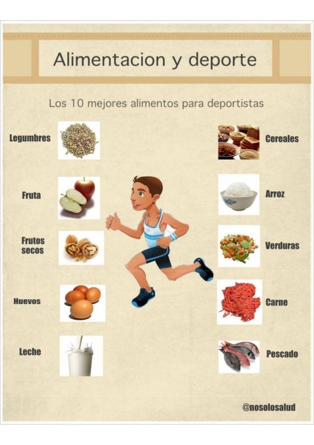 Deporte alimentacion